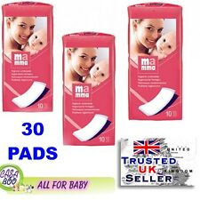 3x Maternity Pads 11x34cm (3x10)30 postpartum hygiene BELLA MAMMA