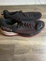 Men's Hoka One One MACH Running Shoes Size 12  Running Shoes Red Black