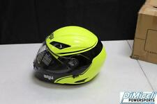 NEW AGV NUMO EVO X-LARGE XL MOTORCYCLE FULL FACE HELMET YELLOW AND BLACK MOD