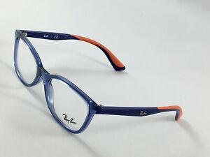 New RAY BAN RB 1586 3775 Boys Kids Designer Eyeglasses Frames 49-16-130