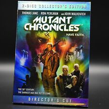 MUTANT CHRONICLES (DVD,2009,2 Discs,Collector's Edition) Thomas Jane,Ron Perlman