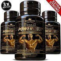 MALE PERFORMANCE ENHANCER STRONGEST PILLS TRIBULUS BIGGER MUSCLE BODY BUILDING