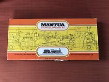 HO MANTUA 1890 Rodger Loco&Tender 4-6-0 STEAM LOCOMOTIVE Kit