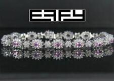 Bracciali di lusso tennis pietra principale zaffiro diamante
