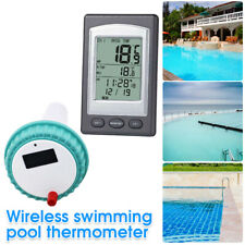 More details for wireless floating thermometer swimming pool pond spa water temperature kit uk