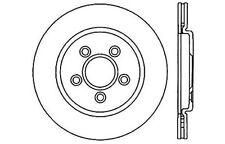 Centric Parts 125.61062 Rear Premium Brake Rotor
