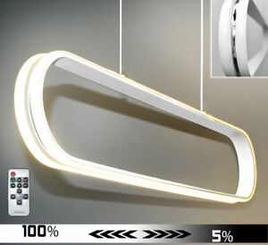 LED ceiling hanging lamp chandelier 100cm warm white dimmable dinning 38W massiv
