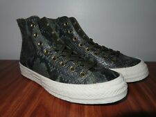 Converse Chuck Taylor All Star Hi 70s 9 Snakeskin Green Leather 561760c CTAS 70