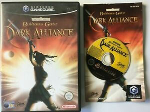 Forgotten Realms Baldur's Gate Dark Alliance Gamecube C014A1