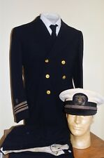 WWII Era Navy Public Health Service Dress Uniform, Pants & Cover