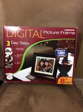 "Smartparts 8"" Digital Picture Frame up to 2,000 Pictures"