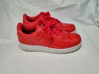 Nike Air Force 1 '07 AF1 LV8 UV Mens Size 10.5 Shoes Siren Red White AJ9505-600