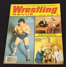 VINTAGE WRESTLING ~ Magazine ~ Wrestling Revue ~ January 1983 ~ wwf