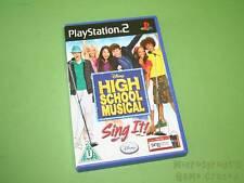 Disney High School Musical Sing It Sony PlayStation 2 PS2 Game - Disney