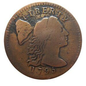 Large cent/penny 1795 Sheldon 76b VF details