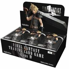 Final Fantasy TCG: Opus 4 Booster Pack Box Square Enix BRAND NEW ABUGames