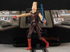 "Star Wars 3.75"" Figur 1/18 Ki Adi Mundi Jedi Master Council Light Saber S242"