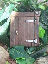 NEW SMALL HOBBIT'S GATEWAY GARDEN ORNAMENT TREES/ WALL