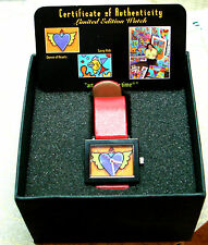 SONYA PAZ Limited Edition *QUEEN OF HEART *WATCH *NIB  AUTHENTICITY CARD