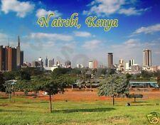 Kenya - NAIROBI - Travel Souvenir Magnet