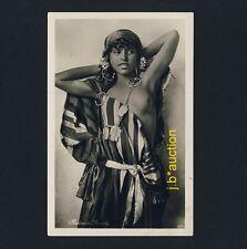 LEHNERT&LANDROCK #217 BEDOUIN GIRL / BEDUININ * Vintage Ethnic Nude Photo PC