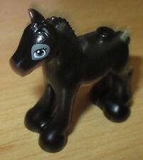 Lego Friends Figur - Tier 1x kleines Fohlen - Pony (schwarz)