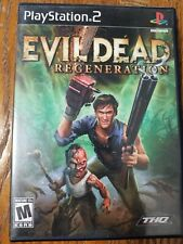 Evil Dead: Regeneration (Sony PlayStation 2, 2005) great condition, complete