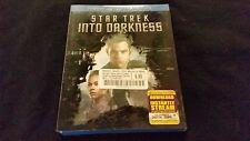 Star Trek Into Darkness Blu ray+DVD+Digital W/Slipcover