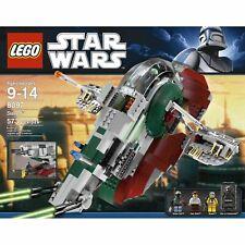 W@W LEGO STAR WARS SLAVE 1 8097 BOXED RARE XLNT BOBA FETT HAN BOSSK XLNT