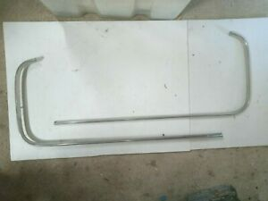 TRIUMPH DOLOMITE 1850 SPRINT RIGHT & LEFTHAND REAR EYEBROW MOULDINGS EXC COND