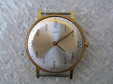VINTAGE WATCH  LUCH ULTRA SLIM  23 Jewels! GOLD PLATED AU12.5+