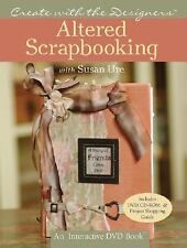 Book HB + DVD-ROM, Altered Scrapbooking with Susan Ure DIY InterActive Design