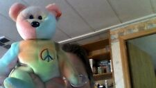 Rare Ty Beanie Baby-PEACE BEAR- Original Collectible (1996) style 4053