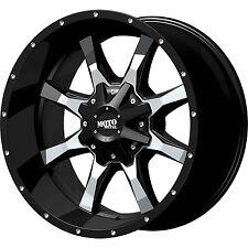 18 (18x9) Moto Metal MO970 6x135/6x139.7 +18mm Black Wheels Rims
