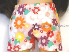 Pink Flower & Bugs Shorts 18 in Doll Clothes Fits American Girl
