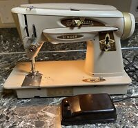 Singer 503a Sewing Machine Vintage With Foot Pedal Tested Working Used