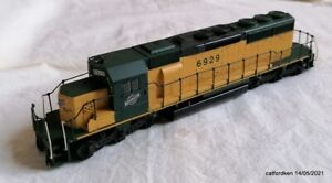 Athearn CN&W SD40-2 non powered Diesel with lots of extra detailing