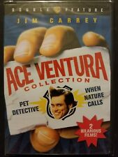 Ace Ventura Double Feature Pet Detective When Nature Calls (DVD, 2009) SEALED