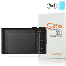 3-Pack Nacodex For Sony H90 WX150 WX300 WX350 Tempered Glass Screen Protector