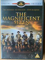 The Magnificent Seven DVD 1960 Original Western 7 Movie Classic Special Edition