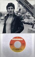 BRUCE SPRINGSTEEN  Fade Away / Be True (nonLP song)  original 45 with PicSleeve