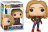 Captain Marvel in Brown Jacket Funko Pop Vinyl New in Box