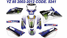 5241 YAMAHA YZ 85 2002-2012 Autocollants Déco Graphics Stickers Decals Kits