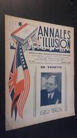 Rivista I Annali Di L Illusione per Lettera N° 10 ABE 1945