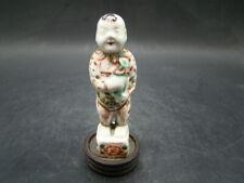 Chinese Kang Xi (1662-1722) nice small famille verte boy x6335