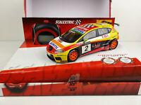 Slot car Scalextric 6479 Seat Leon TDI Campeón WTCC 2009 G.Tarquini +Cronometro