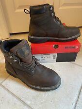 Wolverine Floorhand 6 Inch Waterproof Steel Toe Work Shoe Mens Brown size 10.5