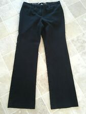 WOMENS TOMMY HILFIGER, COTTON/STRETCH STRAIGHT PANTS SIZE US 4, AU 8 BLACK #1225