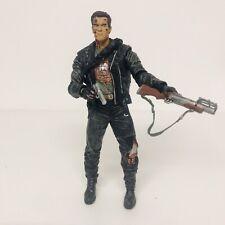 Neca The Terminator 2 PVC steel mill arnold t-800  Deluxe Action Figure