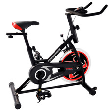 New York Performance Spin Bike with Computer and adjustable seat and handlebars